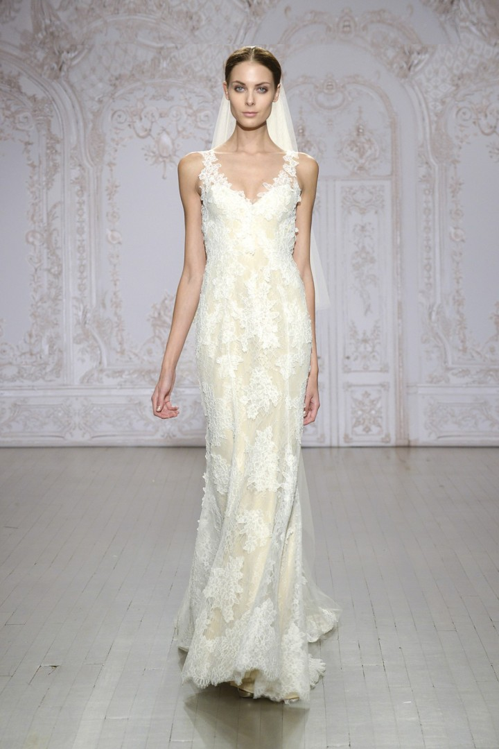 Monique lhuillier wedding dresses 2015 modwedding for Monique lhuillier wedding dress