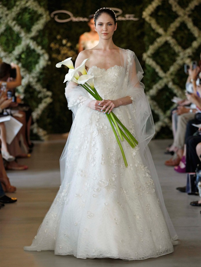 oscar de la renta wedding dress oscar de la renta wedding dresses 2015 modwedding 6313