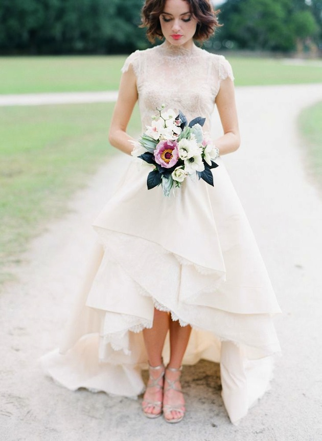19 Sweetest Short Wedding Dresses You\'ll Love - MODwedding