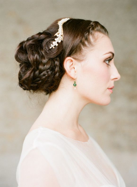 hair styles for the of the chic braided wedding hairstyles modwedding 7189