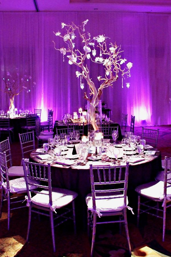 Color Inspiration: Purple Wedding Ideas for a Regal Event - MODwedding