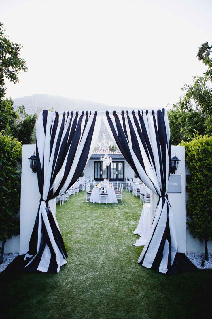 Color Inspiration Modern Black on White Wedding Ideas MODwedding