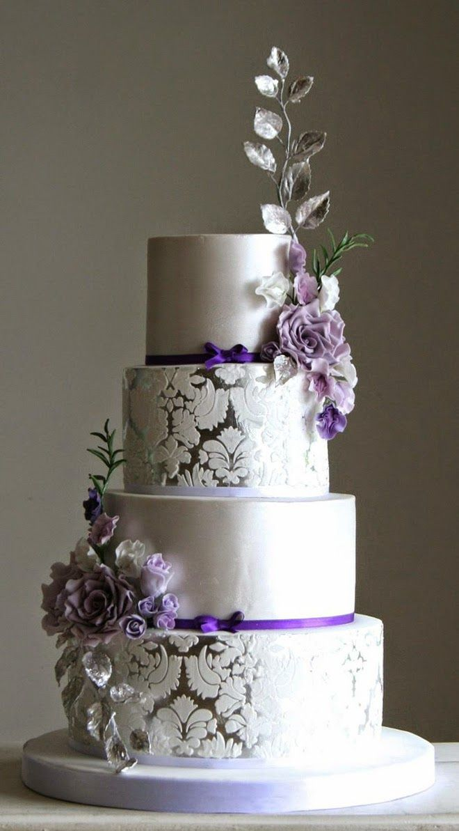 lilac and silver wedding cakes color inspiration purple wedding ideas for a regal event 16879