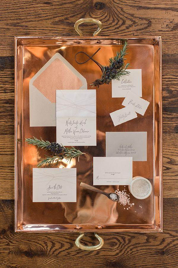 Color Inspiration Trending Copper Wedding Ideas in 2015 MODwedding