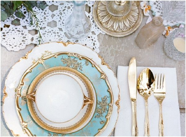 wedding-ideas-4-02092014-ky & Color Inspiration: Stylish Turquoise and Teal Wedding Ideas - MODwedding