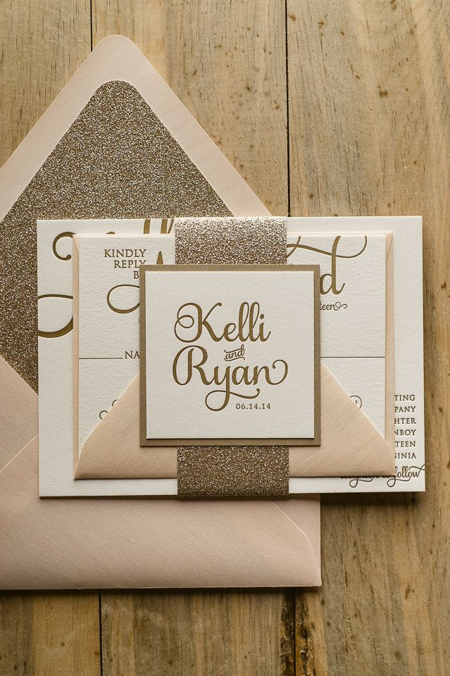 21 Chic Minimalistic Wedding Invitations - MODwedding
