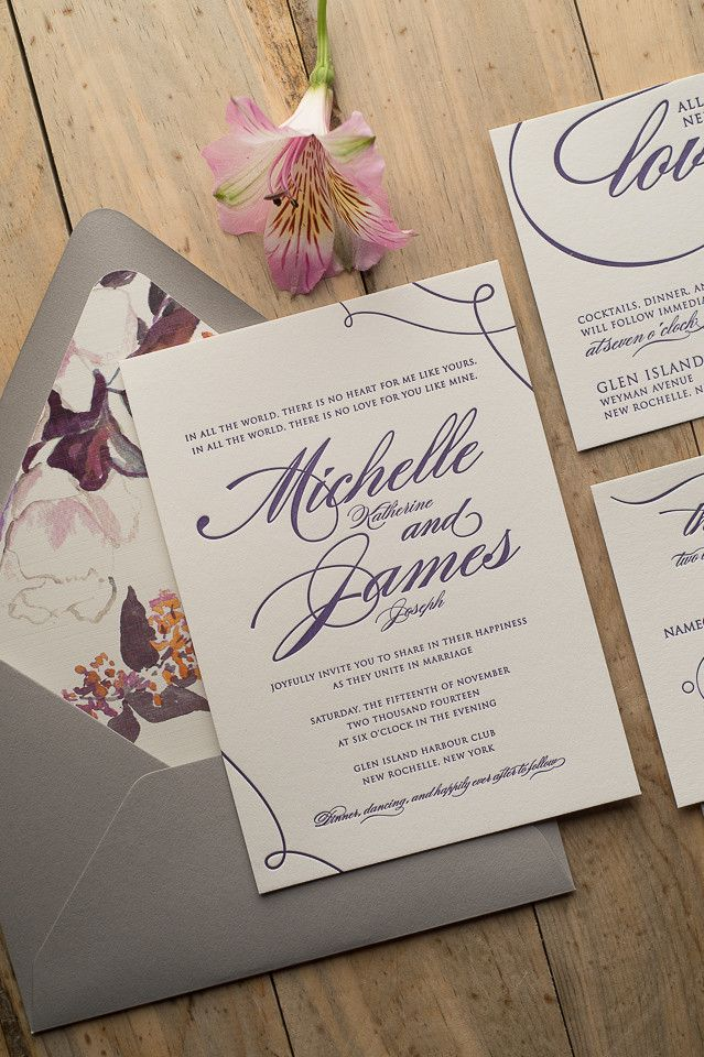 Gorgeous Wedding Invitations - MODwedding
