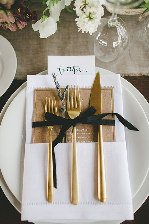 20 Impressive Wedding Table Setting Ideas - MODwedding