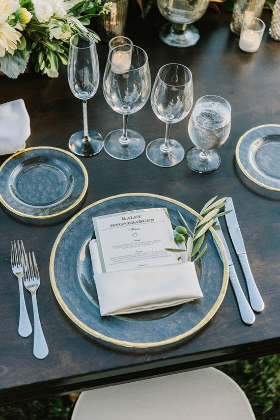 20 Impressive Wedding Table Setting Ideas Modwedding