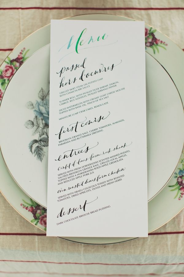 Wedding Food, Drink & Menus. Send your wedding guests home with full with our wedding food and drink ideas. From passed appetizers, hors d'oeuvres, buffet bars, and signature drink ideas for.