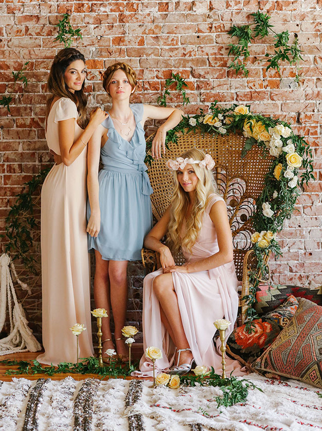 The Most Gorgeous Bridesmaid Dresses from Joanna August - MODwedding