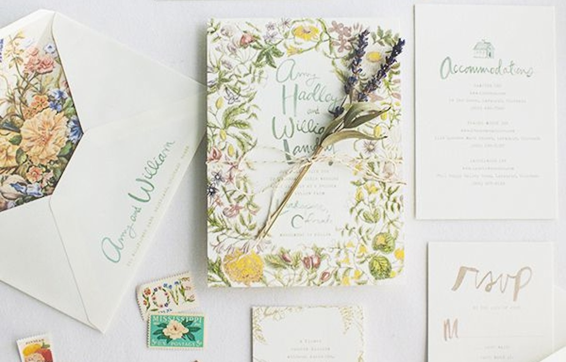 Lovely Wedding Invitations and Stationery Ideas for Inspiration ...