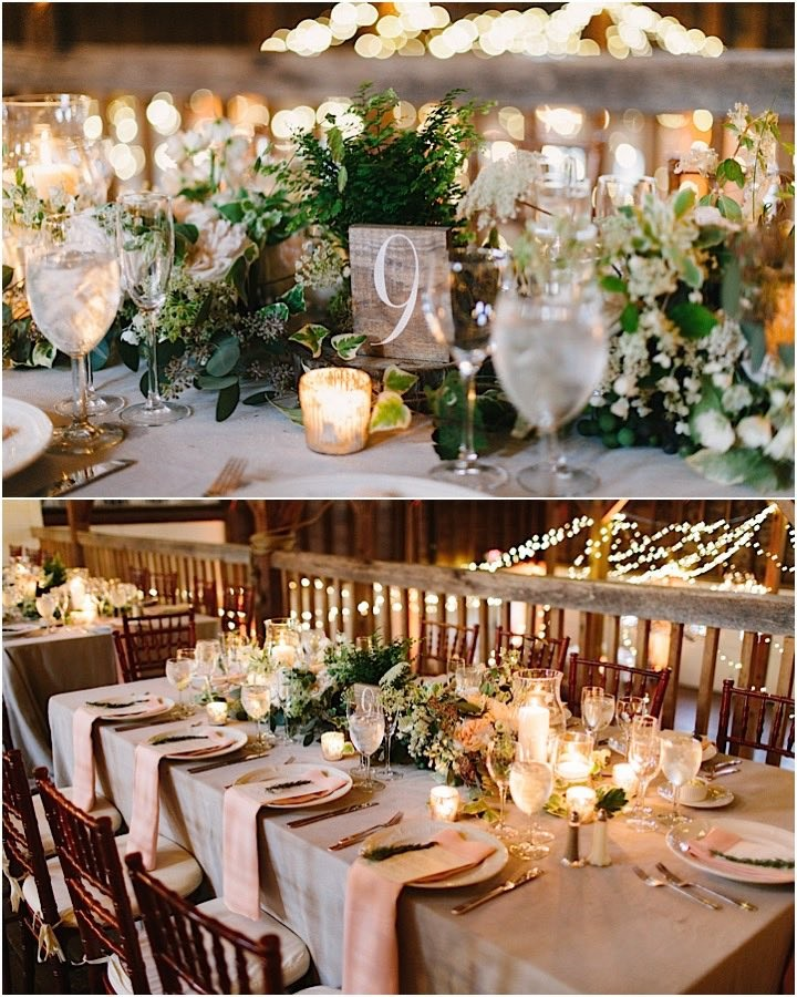 Elegant Wedding Reception Decoration: This Massachusetts Wedding Is Rustically Elegant