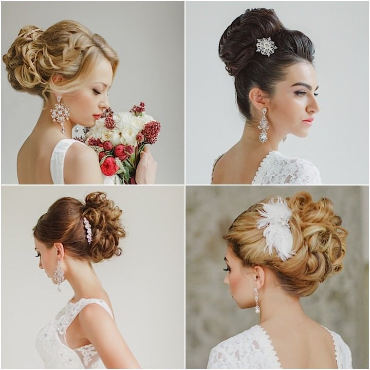 Magnificent The Most Beautiful Wedding Hairstyles To Inspire You Hairstyles For Women Draintrainus