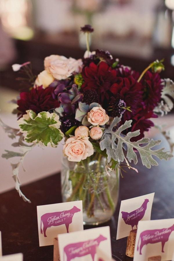 Color Inspiration Wine And Vineyard Inspired Wedding