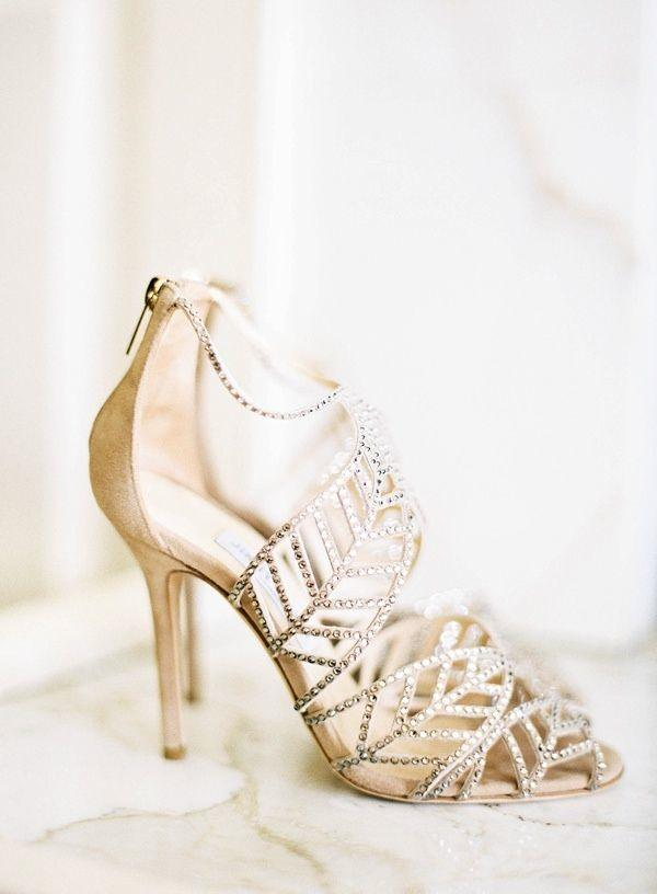 20 Perfect Wedding Shoes to Wear Down the Aisle