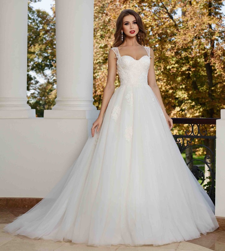 Great Maya Fashion Wedding Dress 1 05082015nz ...