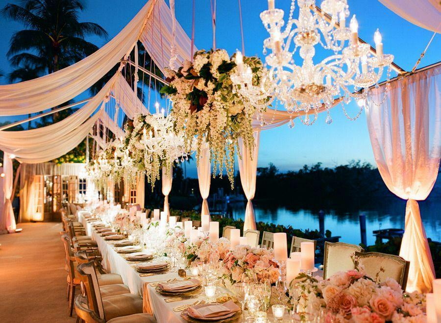 Pros And Cons Of Outdoor Wedding Venues: Luxurious Tented Naples Wedding From Anna Lucia Events
