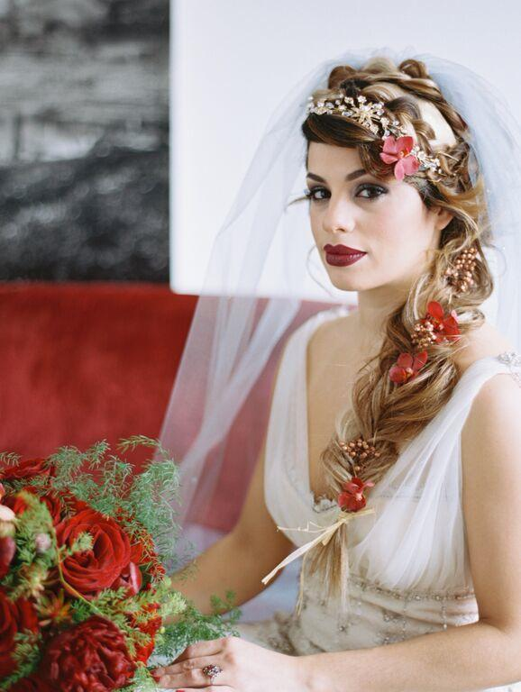 Mysterious Shakespeare Themed DC Wedding Inspiration At Longview Gallery