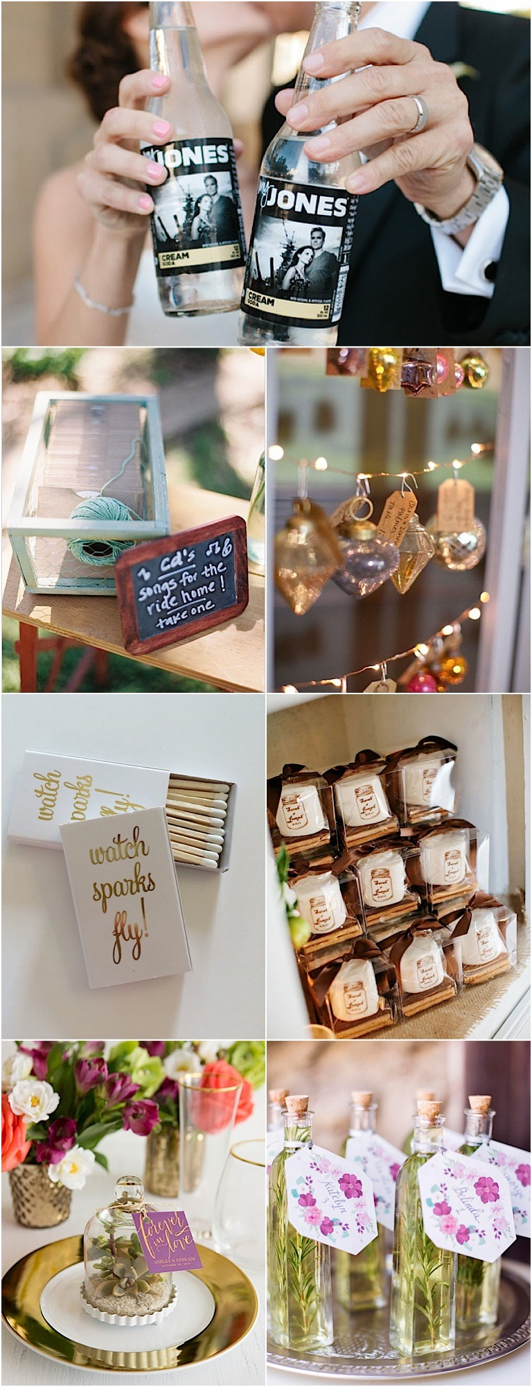 Wedding Gift Away Ideas : 20 Fabulous Wedding Favors to Give Away with Pride - MODwedding