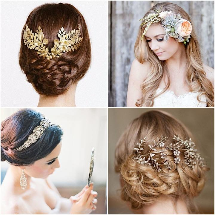 2015 Wedding Hairstyles: 20 Wedding Hairstyles With Gorgeous Headpieces