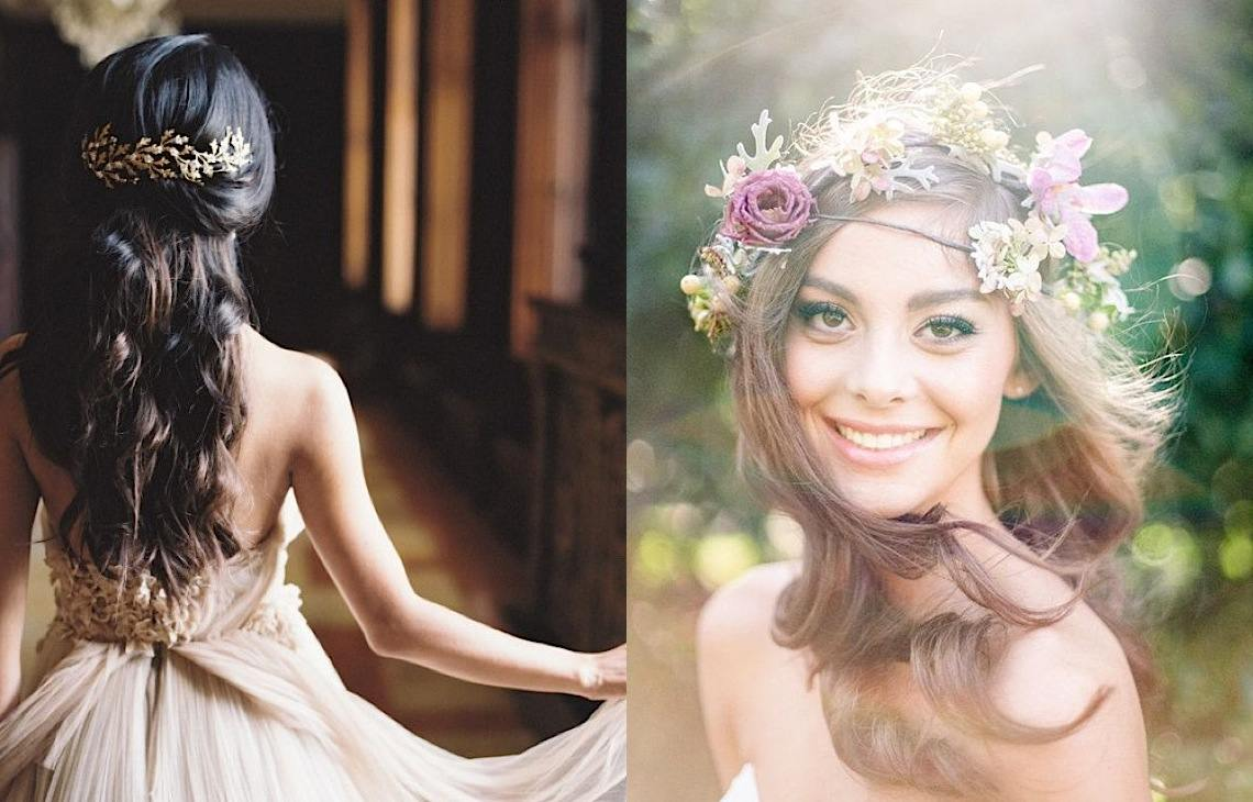 20 Wedding Hairstyles With Gorgeous Headpieces