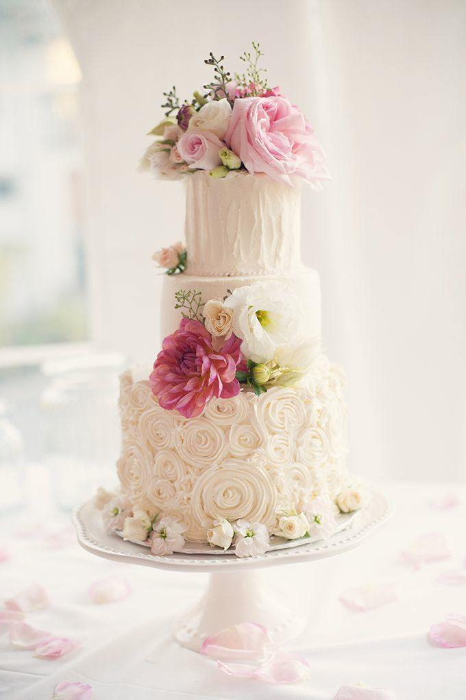Color Inspiration Light Pink And Ivory Wedding Ideas