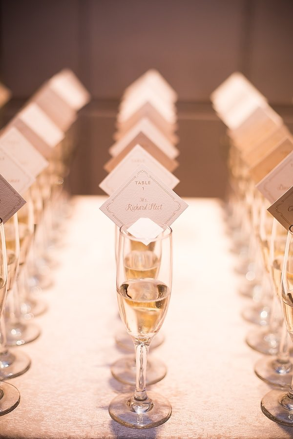 Place cards, escort cards, or seating chart? 7