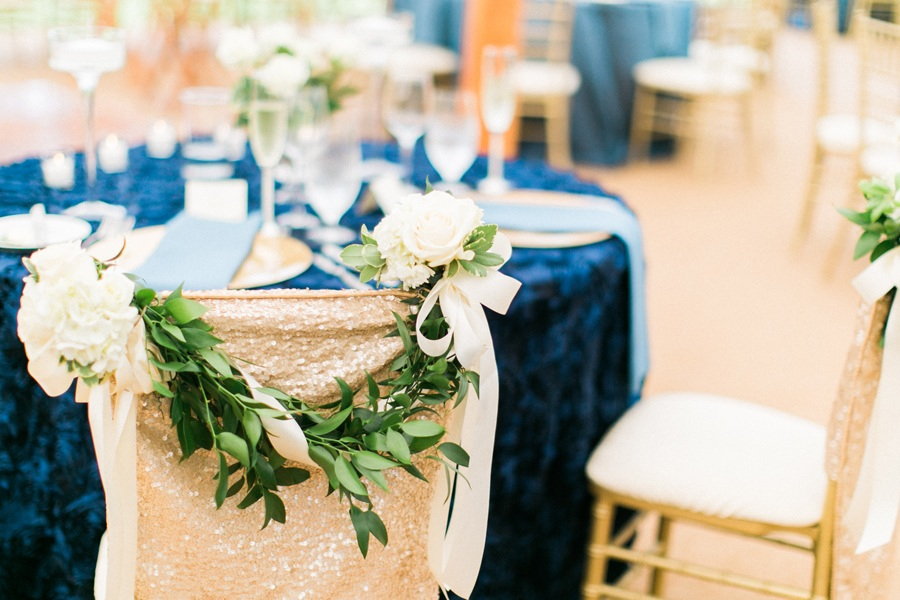 Cleveland Wedding Blue And Gold Inspiration At Inn Walden
