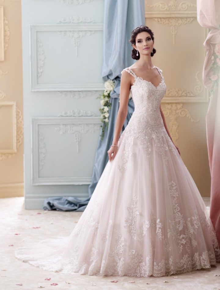 David tutera wedding dresses 2016 modwedding for Wedding dress david bridal