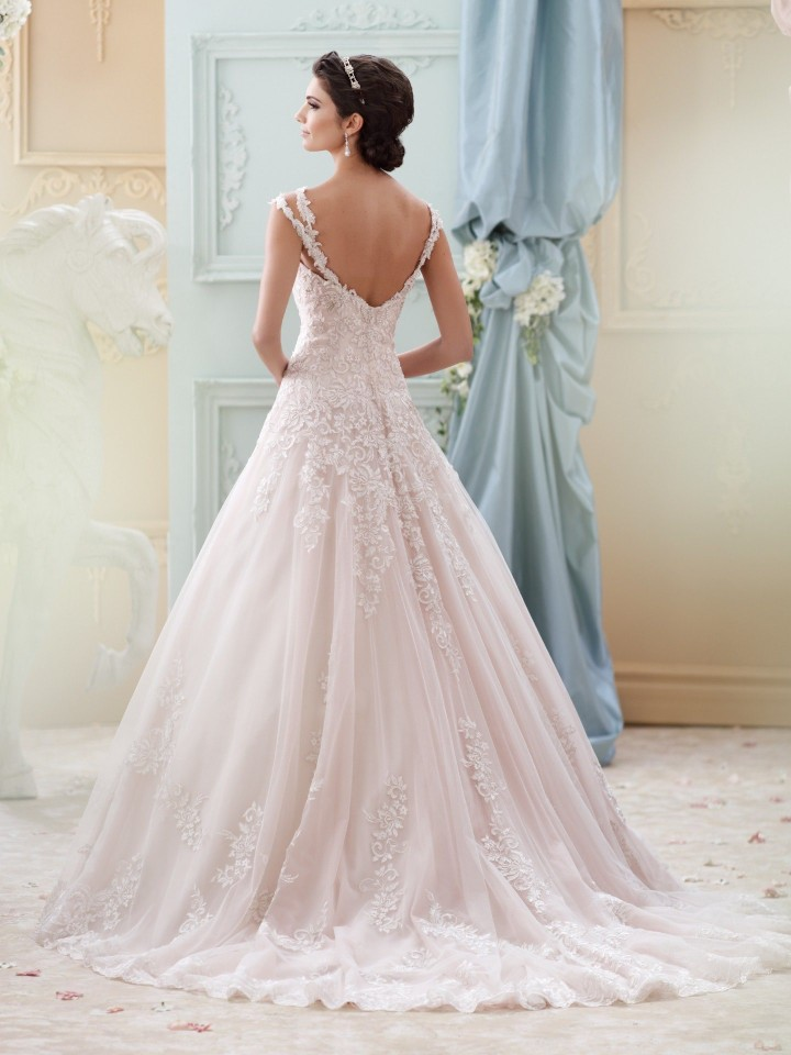Pink Wedding Dresses David S Bridal : David tutera wedding dress nz