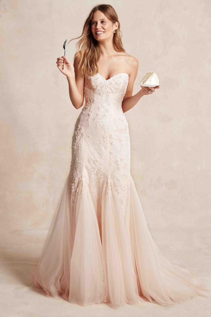 Monique lhuillier wedding dresses 2015 bliss collection for Monique lhuillier wedding dress