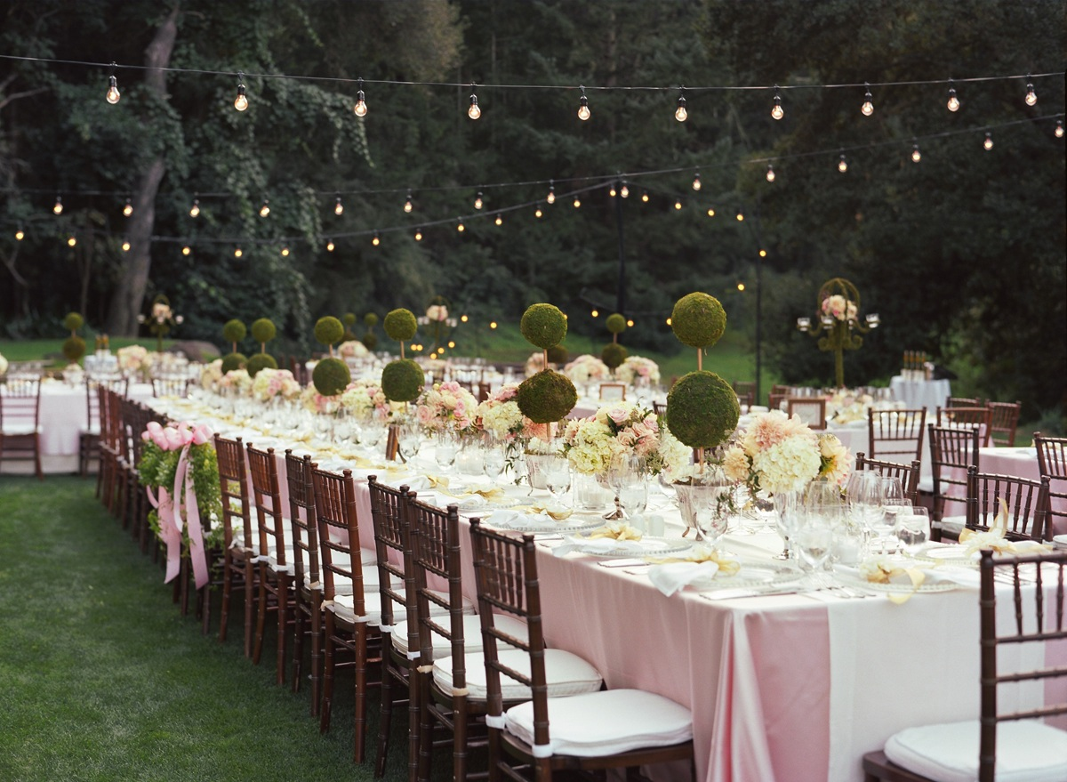 Pink Color Inspiration Napa Valley Wedding At Meadowood