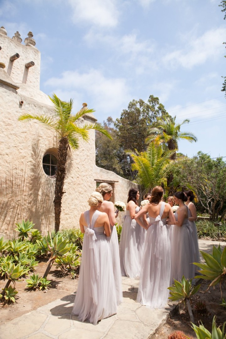 Gorgeous All White Decor Santa Barbara Wedding Modwedding