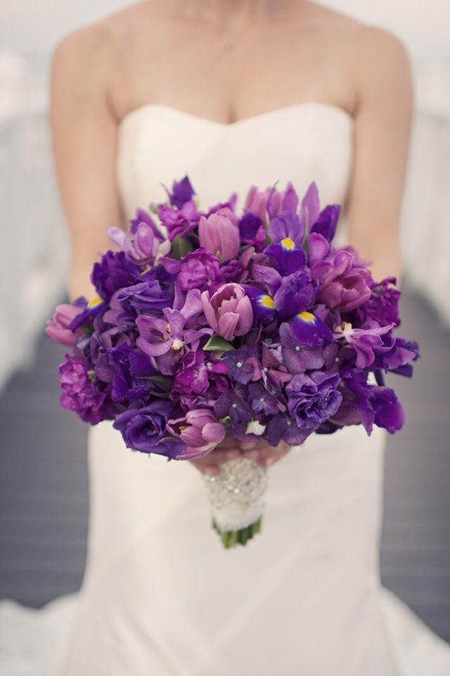 wedding ideas 20 gorgeous purple wedding bouquets modwedding