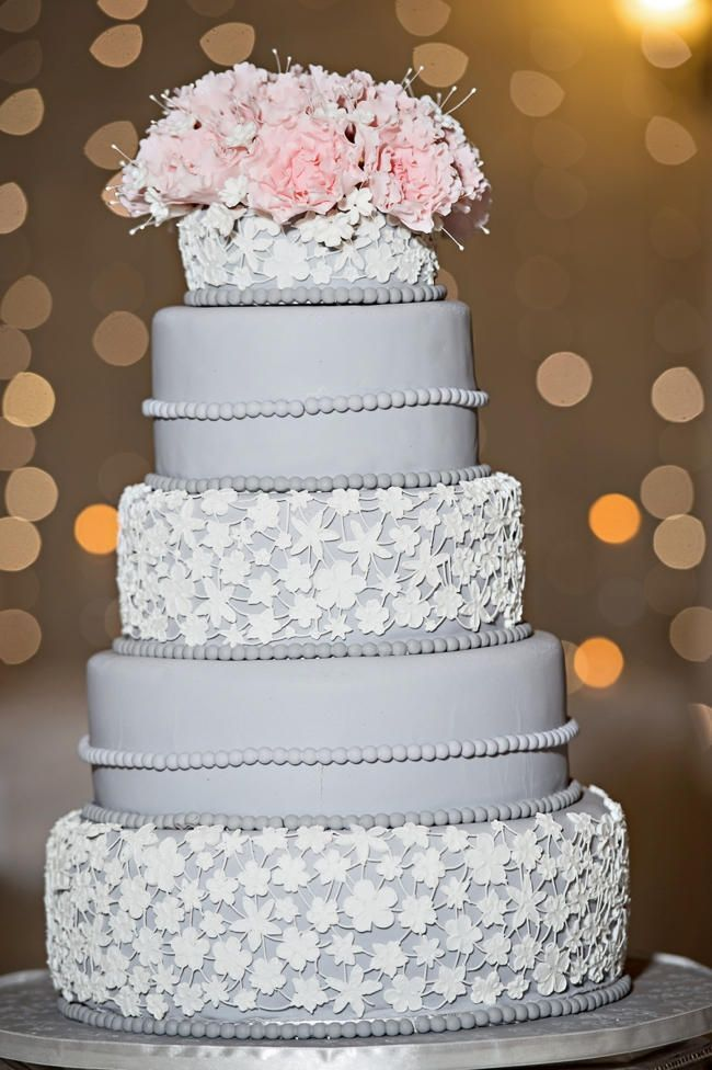 pink and grey wedding cakes 25 remarkable wedding cakes modwedding 18548