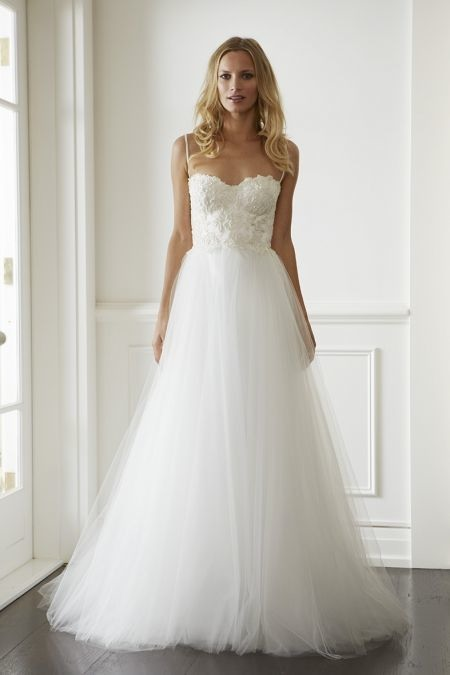 21 ultra romantic tulle wedding dresses modwedding for A line tulle wedding dress