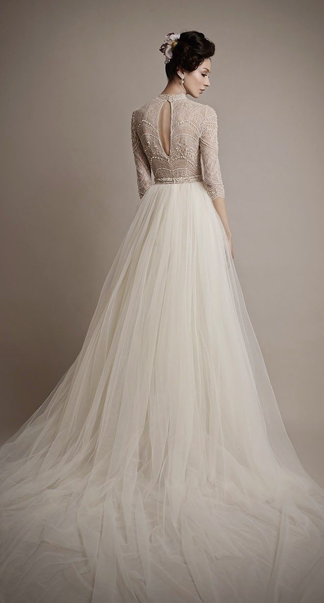 21 ultra romantic tulle wedding dresses modwedding wedding dresses 6 06192015 ky junglespirit Images