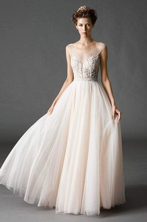 21 ultra romantic tulle wedding dresses modwedding wedding dresses 7 06192015 ky junglespirit Images