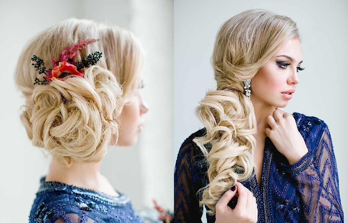 Full on Glamour: Timeless Wedding Hairstyles - MODwedding