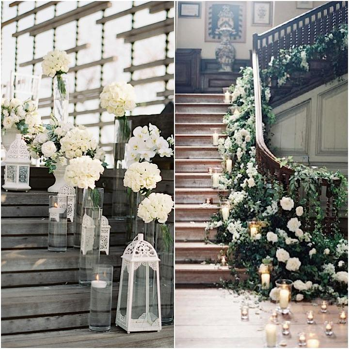 21 Staircase Decorating Ideas: Wedding Ideas: 19 Beautiful Ways To Decorate Your