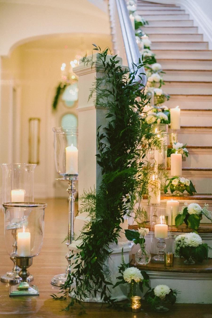 Wedding ideas 19 beautiful ways to decorate your for Wedding decorations home