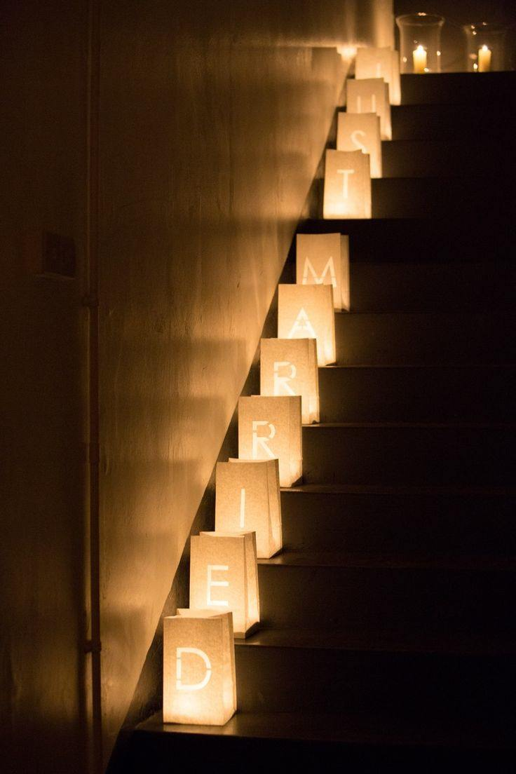 Wedding ideas 19 beautiful ways to decorate your staircase modwedding wedding ideas 6 06232015 ky junglespirit Choice Image
