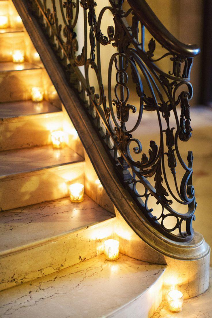 Wedding ideas 19 beautiful ways to decorate your staircase modwedding wedding ideas 7 06232015 ky junglespirit Choice Image
