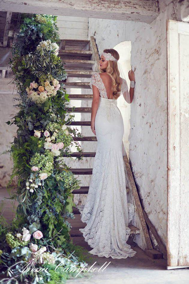 Wedding ideas 19 beautiful ways to decorate your staircase modwedding wedding ideas 9 06232015 ky junglespirit Image collections