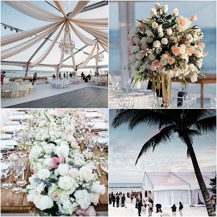 Destination Weddings In Mexico: Glamorous Mexico Destination Wedding By The Beach