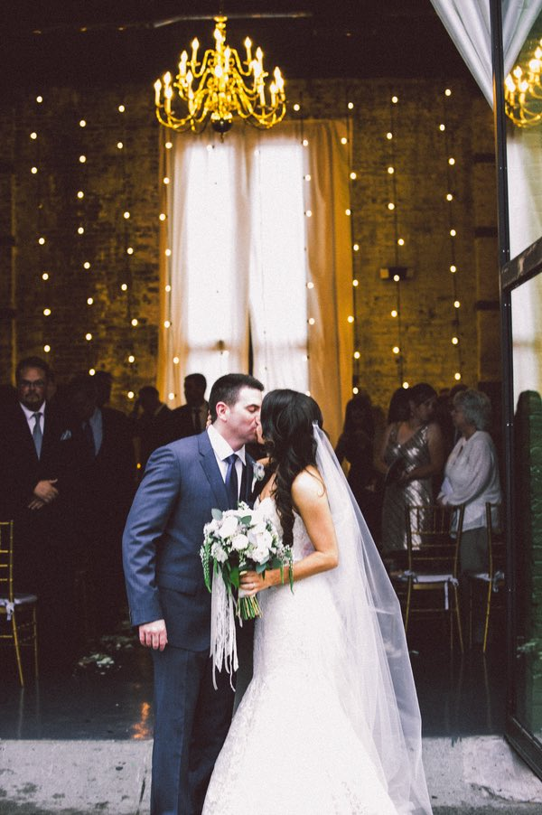 Industrial Chic New York Wedding