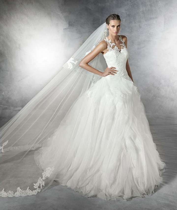 Pronovias Wedding Dresses 2015: Pronovias Wedding Dresses 2016 Collection