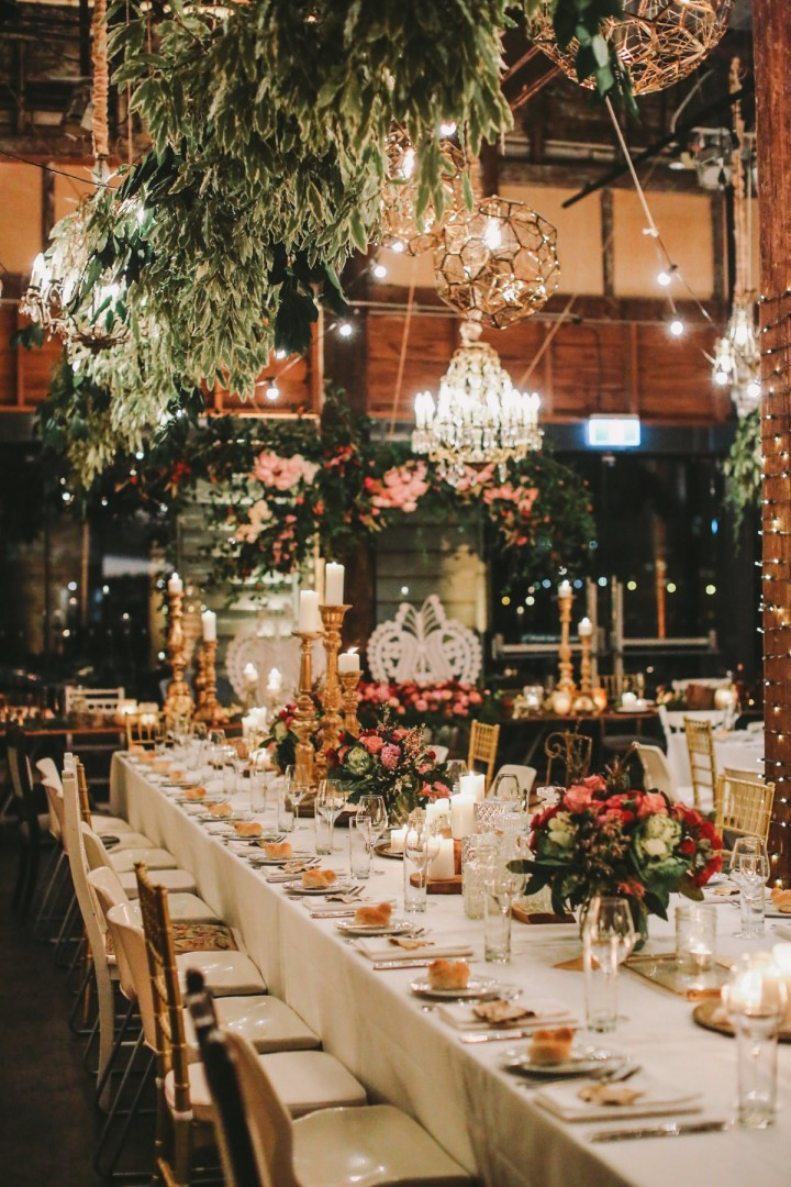 Sydney Wedding: Romantic Botanical Garden Theme