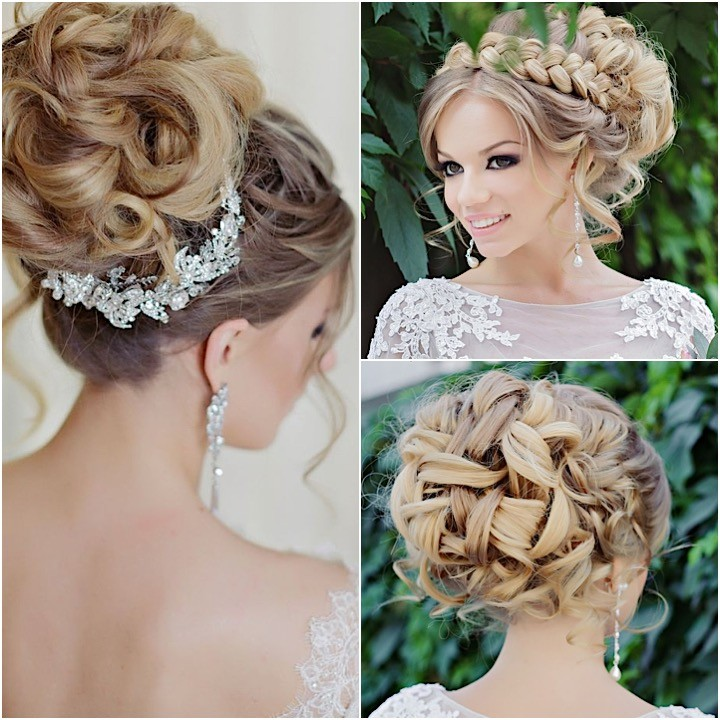 Glamorous wedding hairstyles with elegance modwedding updo wedding hairstyle collage 07122015nz pmusecretfo Gallery